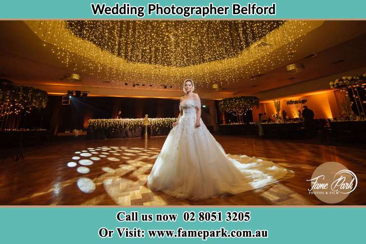 Photo of the Bride on the dance floor Belford NSW 2335