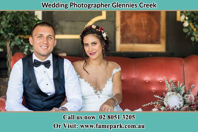 Photo of the Groom and the Bride Glennies Creek NSW 2330